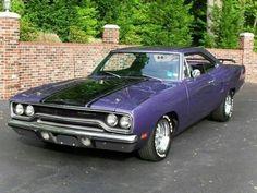 Plymouth GTX Wearing Plum Crazy Purple ... Beautiful !!