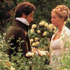 Jeremy Northam (Mr. Knightley) & Gwyneth Paltrow (Emma Woodhouse) - Emma directed by Douglas McGrath (1996) #janeausten