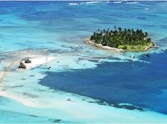 San Andres, Colombia. This is the small cay (Aquario Cay) off San Andres Island. San Andres Island was a great place to visit. :) Fun memories