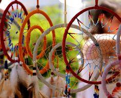 Native American Art - Dream Catchers  by Mrs Ramsay, via Flickr