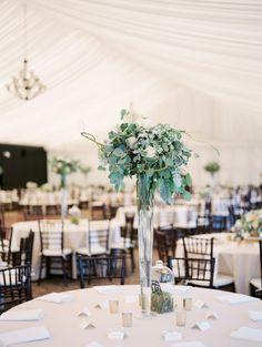 50 Shades of Green Oregon Wedding from Laura Nelson Photography - wedding centerpiece idea