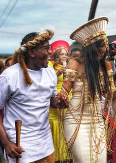 Umembeso is a gift-giving ceremony that forms part is the traditional Zulu wedding process.