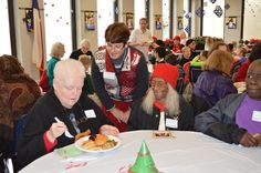 Lakehill's students give back to East Dallas' elderly residents with a holiday luncheon