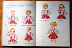 Dorothy Grider Illustrated Favorite Pastimes Rand McNally Book Vintage 1963 Little Majorettes.