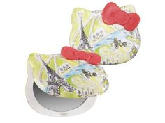 2 of my favorites... Paris and Hello Kitty... merci, #HelloKitty for designing this lovely compact :)