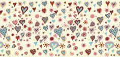 corações, corações, dia dos namorados, nas férias, textura, vetor, gráficos