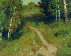 A birch grove - Isaac Levitan - WikiArt.