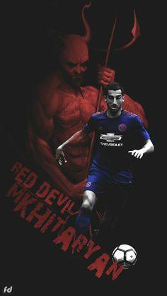 #ManchesterUnited (2016-2018) - #HenrikhMkhitaryan #22 Soccer Gear, Soccer Stuff, Manchester United Football, Professional Football, Old Trafford, Team S, Premier League, The Unit, Fun Games
