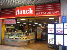 Gotta love the Flunch...france's fast food style restaurant...fast + lunch = Flunch! LOL! But the food still wasn't bad, because in France, the food can't be bad.