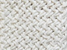 Diagonal basketweave is one of those knitting patterns that looks so intimidating, but once you understand the method is a lot of fun to knit.