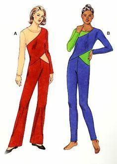 Women's jumpsuit pattern