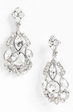 chandelier earrings. swoon.