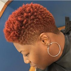 Hair care Ideas : 223 Likes, 4 Comments – Natural Hair Care Curl Sponge™ (Sponge Cuts) on Instag… Natural Tapered Cut, Short Natural Styles, Natural Hair Short Cuts, Short Natural Haircuts, Short Afro Hairstyles, Tapered Hair, Curled Hairstyles, Short Hair Cuts, Short Hair Styles