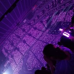 Purple Wallpaper, Army Wallpaper, Bts Wallpaper, Bts Army Logo, Concert Crowd, Violet Aesthetic, Dream Concert, Purple Walls, Bts Aesthetic Pictures