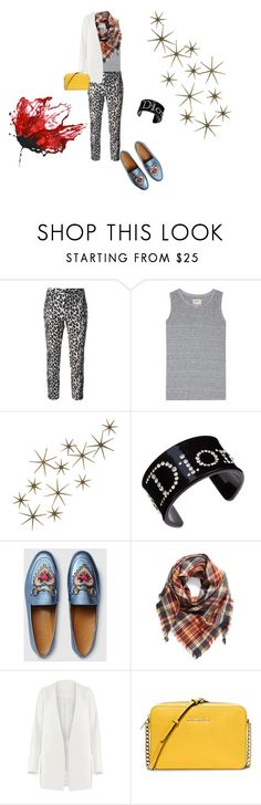 """""""Untitled #155"""" by mariela-hayoon on Polyvore featuring Alberto Biani, Current/Elliott, Global Views, Christian Dior, Gucci, BP., Non and MICHAEL Michael Kors"""