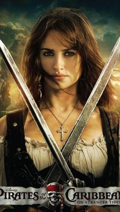 Character posters for Pirates of the Caribbean: On Stranger Tides starring Johnny Depp, Penelope Cruz, Geoffrey Rush, and Ian McShane. Johnny Depp, Captain Jack Sparrow, Pirate Woman, Pirate Life, Lady Pirate, Film Pirates, On Stranger Tides, Long John Silver, Pirates Of The Caribbean