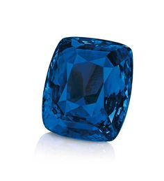 The Blue Belle of Asia, a cushion-shaped Kashmir sapphire, sold for a record-breaking sum of $17,305,996 at Christie's Geneva in November 2014.