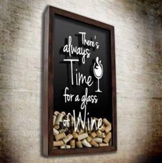 Time for Wine Wall Paint Inspiration, Wine And Food Festival, Pub Design, Wood Wine Racks, Wine Baskets, Wine Decor, Wine Case, Wine Bottle Holders, Cork Crafts