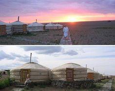 Three Camel Lodge, Mongolia