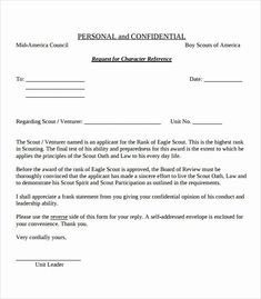 Eagle Scout Recommendation Letter Template Unique View Source Image Reference Letter Reference Letter Template Letter Templates