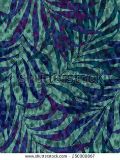 vibrant camouflage design with palm leaves. seamless tropical pattern.