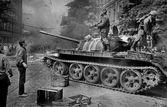 The Day the Tanks Came Prague Spring, World War Ii, Old Photos, Military Vehicles, Photo And Video, Day, Retro, Pictures, August 21