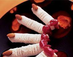 Dead Man's Finger Sandwiches