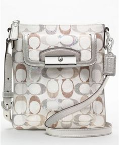 Coach Kristin Embellished Signature Swingpack wholesale designer coach handbags