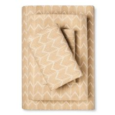 Flannel Sheet Set (Cal King) Golden Chevron - Threshold