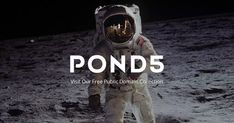 Download thousands of media files including stock footage, images, songs, and more for FREE from Pond5's Public Domain Project.