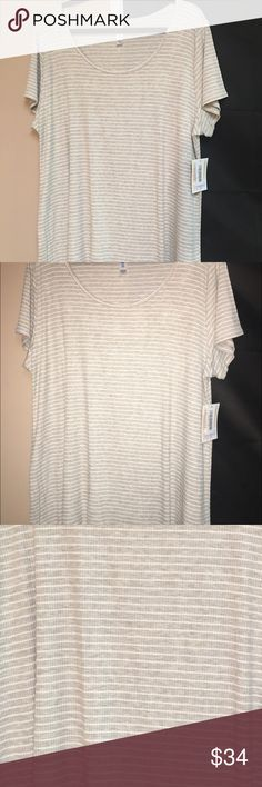 Brand new authentic LulaRoe Classic in 3XL The color is more beige than can be seen in photos. LuLaRoe Tops Tunics