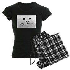 Cat impressionistic pajamas