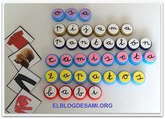 ELBLOGDESAMI.ORG-CONCIENCIA-FONOLÓGICA-TAPONES- (2) School Items, Classroom Decor, Montessori, Homeschool, Teaching, Writing, Holiday Decor, Pills, Blog