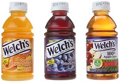 Welch's Juice now offered in on-the-go sizes No sugar added of the daily recommended allowance of Vitamin C All convenience stores need these great flavors Variety pack Drinks With Pineapple Juice, Juice Drinks, Healthy Drinks, Healthy Snacks, Healthy Recipes, Welch Juice, Welch Grape Juice, Chewy Candy, Types Of Fruit