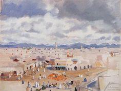 Morocco.Marrakesh - Zinaida Serebriakova