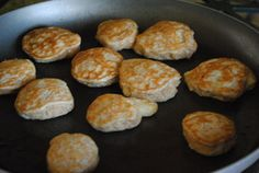 Low Carb Psyllium Pancakes Only 2 Net Carbs Per Serving - click the photo for the recipe