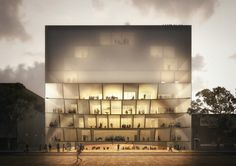 HASSELL - MELBOURNE CONSERVATORY