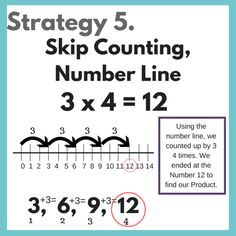 Multiplication can be challenging for kids to learn and for teachers to teach! Here are a few tips to make teaching multiplication easier. Multiplication Strategies, Teaching Multiplication, Math Strategies, Multiplication Problems, Maths, Preschool Curriculum, Homeschool Math, Homeschooling, Teaching Skills