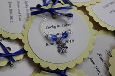 Custom Wine Charm Favors by SunMoonStars on Etsy, $2.25