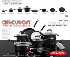 Name of Product: Circulon Cookware Set    Units: About 4,600    Manufacturer: Meyer Corporation U.S., of Vallejo, Calif.    Hazard: The glass lid used with the 5-quart covered sauté pan can crack, break or shatter, posing a laceration hazard to consumers.