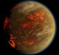 Gliese 436 b // Click through to read about this planet. It has hot ice. Space is so fracking cool.