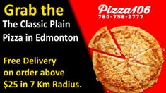 We have customized deals for your requirements if you are a bigger group; get 2 large pizzas, with 6 cans of Pepsi, all this at just $33.95 The Everyday deals in Edmonton are designed in such a way, it might be a good day or bad, we are just a call away. Plain Pizza, Big Group, Menu Items, Pepsi, Lunches And Dinners, Breakfast, Food, Pizza, Essen