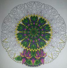 #coloringbook #balance #stressmenders #volume1 #relaxing #Staedtler #TriplusColor #markers #brilliantcolours #art #newpiece