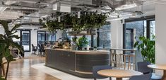 2021 WIN Awards entry: Fora at 22 Berners Street - Oktra Terrazzo Flooring, Victorian Furniture, Workplace Design, Architecture Office, Coworking Space, Reading Room, Commercial Interiors, Office Interiors, London