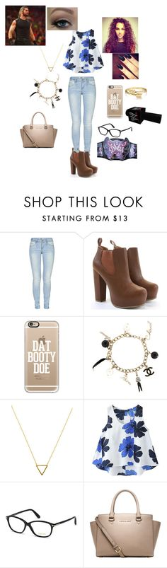 """""""WWE"""" by wwediva3456 ❤ liked on Polyvore featuring ONLY, Casetify, Chanel, Wanderlust + Co, Chicnova Fashion, Tom Ford, Michael Kors and Bling Jewelry"""