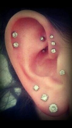In live with these expescially the forward helix and the rook