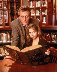 Buffy the Vampire Slayer  Season 1 Giles and Buffy