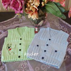 Baby Vest, Baby Knitting Patterns, Christian, Sweaters, Tulum, Fashion, Knit Jacket, Knitting Patterns, Shearling Vest