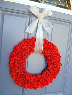 A bunch of fun stuff to make with Duct Tape - isn't that wreath great- It's probably waterproof too!