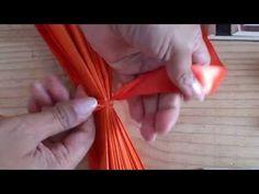 pompom de papel seda - YouTube